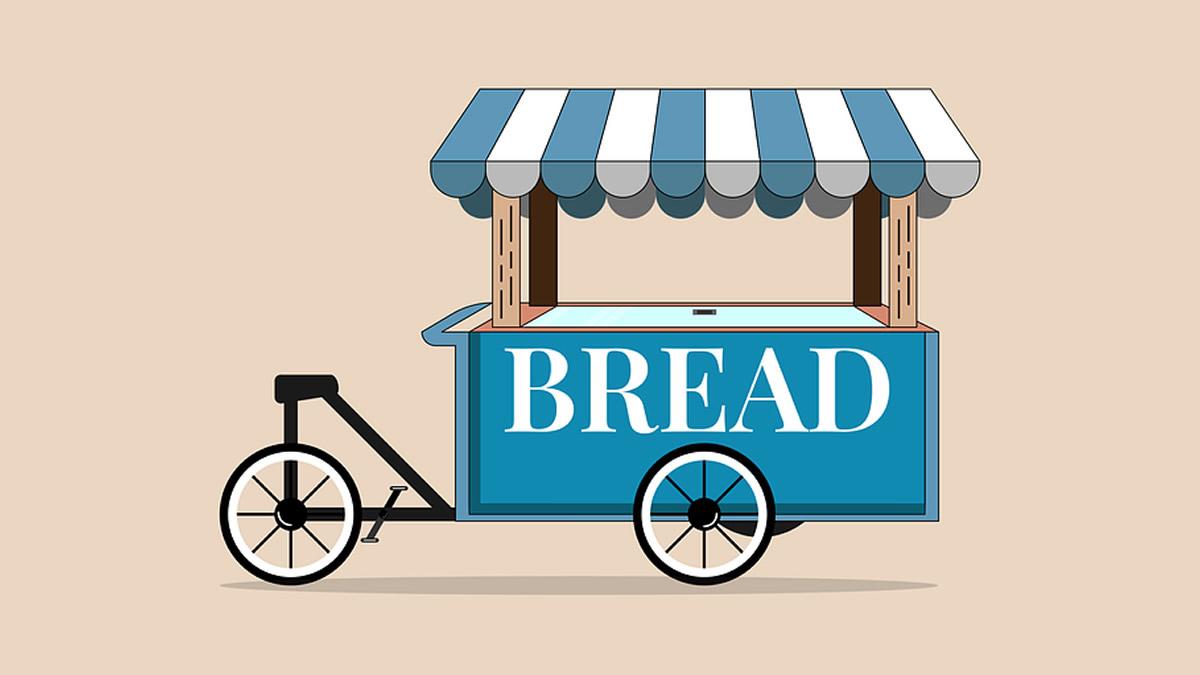 パン屋さんの屋台